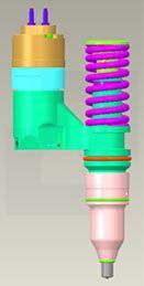 10-R0725 паливна форсунка двигуна
