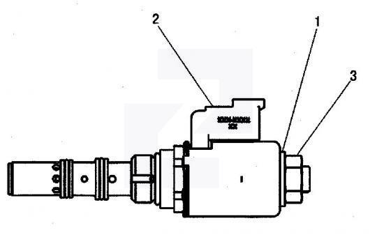 174-4913 Клапан-соленоїд 24V