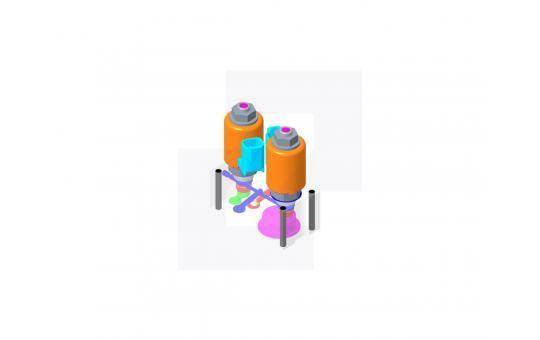179-3543 Гідророзподільний клапан